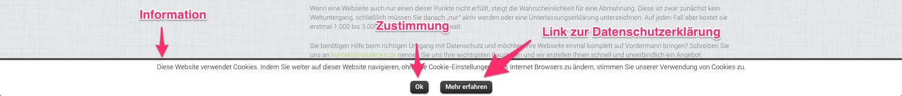 Auch wenn sie nerven: Pop-Ups sind derzeit die rechtssicherste Variante, die EU-Richtlinien für Cookies umzusetzen.